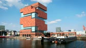 urban development : MAS Museum aan de Stroom (Museum by the River). Antwerp, Belgium