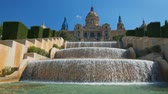 Magic Fountain of Montjuic. Barcelona, Spain
