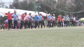 tiro com arco : HAI DUONG, VIETNAM, JULY 20: Sports competitions for archery. Athletes Compete for the title of Vietnam championship on Julay, 20, 2014 in Hai Duong, Vietnam.