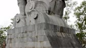 The statue of the saint in Viet Nam Stock Footage