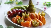 Platter of a assorted fresh fruit