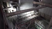 transformador : Power plant. inside view of the combined heat and power plant