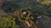 campo : Flying over an Italian estate