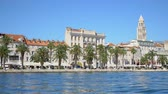 hırvat : Beautiful view of the old town Split in Croatia.
