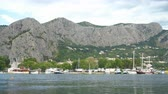dalmatia : Cetina River in Omis, Croatia. Stock Footage