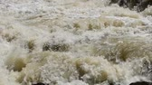 course pied : mountain river Stock Footage