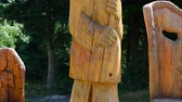 carpathians : wooden figures