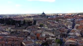 toledo : Shooting of the city Toledo in Spain. Hospital of Tavera. Timelapse.