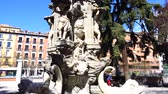 mimari : Glory fountain. Madrid, Spain.