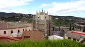 toledo : The Monastery of San Juan de los Reyes in Toledo, Spain. Stock Footage