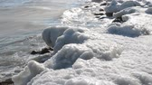 desolado : The frozen seashore Stock Footage