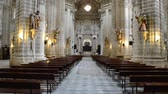 andaluzia : The Cadiz Cathedral. Andalusia, Spain Temple