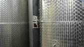 konserve : Wine Fermenting in huge vats in a wine