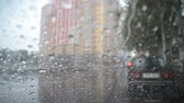 escorregadio : Raindrops on the Windshield