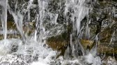 waterworks : Symmetry water cascade in park Stock Footage