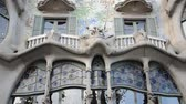 art noveau : The facade of the house of Casa Batllo. Barcelona, Spain.