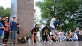hip hop : break-dance Public statement on the city