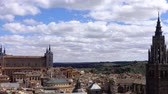 toledo : The Primate of Saint Mary of Toledo. Time lapse.