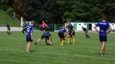 ennemis : LVIV, UKRAINE - AUGUST 30, 2019: City Rugby Cup 7.