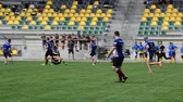 stadyum : LVIV, UKRAINE - AUGUST 30, 2019: City Rugby Cup 7.