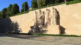 Geneva, Reformateurs monument. Find similar clips in our portfolio.