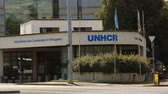 UNHCR organization in Geneva (United Nations High Commissioner for Refugees). Find similar in our portfolio. Stock Footage