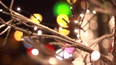 Christmas lightsin the city. Find similar in our portfolio. Stock Footage