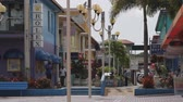 karaiby : Shopping street in Jolly Harbor on the Caribbean Island of Antigua