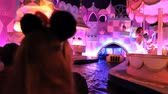 celebration : Paris, June 28, 2014: Having fun in Small World at Disneyland