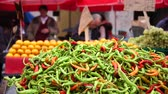 croata : Peppers at the market