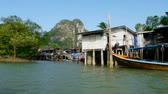 phangnga : Muslim fishing village in the PhangNga province in south Thailand