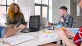 marcador : creative team working on user interface at office Vídeos