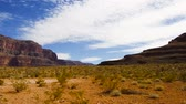 estados : view of desert in grand canyon