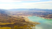 mead : aerial view of grand canyon and lake mead Stock Footage