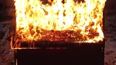 inferno : Piano on fire musical instrument