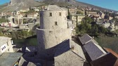 здание : Old bridge in Mostar