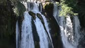 tajlandia : waterfall with fresh water in wild nature Wideo