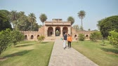 mramor : Delhi, India - November 28, 2018: The complex of buildings Humayuns tomb which is a World Heritage architecture.