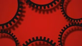 gears background video Stock Footage