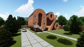 Zero percent shaped house, Concept, Motion Graphic