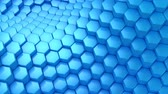 geometryczne : Hexagons Formed A Wave Wideo