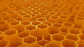 moving down : Background of Hexagons