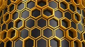 geometryczne : Background of Hexagons
