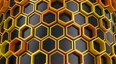 high tech : Background of Hexagons