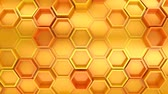 para baixo : Background of Hexagons
