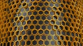 se movendo para cima : Background of Hexagons