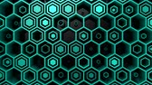 cyan : Background of Hexagons