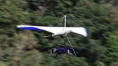 ibaraki : Hang glider immediately after takeoff Stock Footage