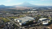 район : Mt. Fuji seen from the sky of Susono City