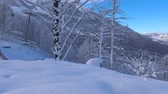 Caucasian mountains. Ski resort Rosa Khutor. Sochi. Russia.